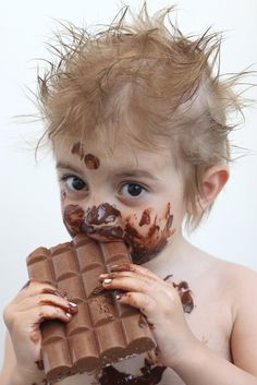 """I found the chocolate."" 