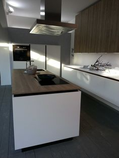Rot Punkt Kitchen Display at their Hannover Germany showroom.