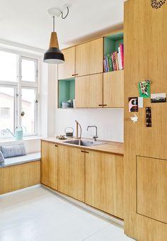 Windowsbench and green accents #HomeAppliancesSleep