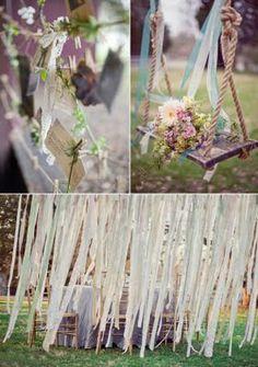 a tree swing as a photo op.