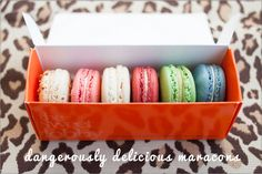 Macarons from The Sweet Lobby in Washington,  DC