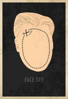 Minimalist Posters : Faceoff