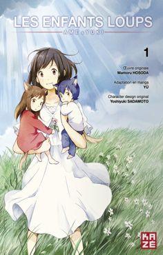 Les enfants loups. Manga. T.1
