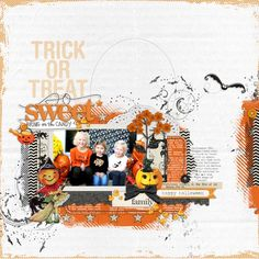 Love this page from Lori at DesignerDigitals! Makes me want to have Halloween year-round!