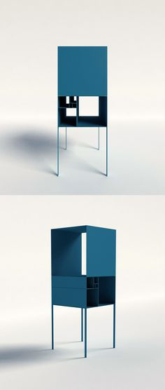 fibonacci shelf   designboom.com