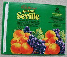 "Cadbury's GRAND SEVILLE - 1970'S UK Chocolate Bar Wrapper | eBay. ""A subtle…"