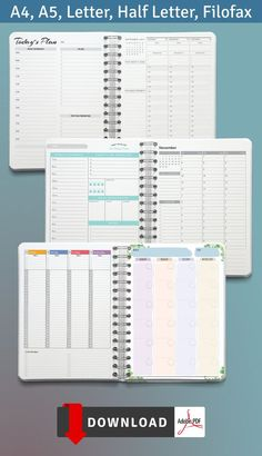 This collection of Calendar With Schedule can increase your chances of staying productive all day every day. It is so easy to use and you can start anytime! These planners are designed in a simple way and contains main parts. Timetable Planner, Weekly Hourly Planner, List Template, Planner Template, Schedule Calendar, Best Planners, Ways To Save Money, Getting Organized, Bullet Journal