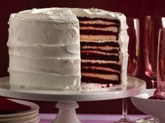 Red Hot Holiday Trends - Take your holiday celebration to impressive new heights! Once you cut into this stunning cake, guests will go gaga over all 18 layers.  You don't have to reveal how easy it is to make. We won't tell. See how it's done.