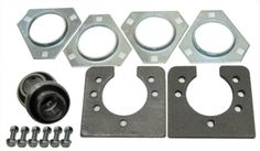 Parts and Accessories 64657: 1 Bearing Kit (3 Hole) For Go Kart Off Road Cart Drift Trike Mini Bike Parts BUY IT NOW ONLY: $36.95