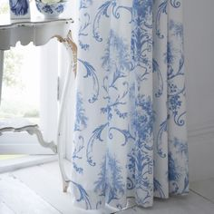 1000 images about blue white home iv on pinterest for Space fabric dunelm