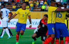 Ecuador superó sin problemas a Honduras - La selección de Ecuador disputó en el Estadio Olímpico Atahualpa su último test de cara a las eliminatorias sudamericanas rumbo a Rusia 2018. El r...