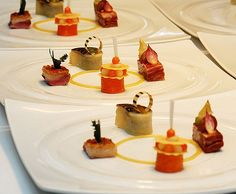 Gourmet canapes for your guests.