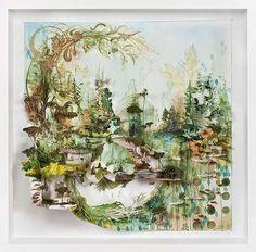Arte saindo das telas por Gregory Euclide