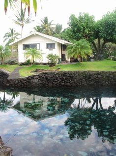 waiuli beach cottage oceanfront at richardson beach hilo swim rh pinterest com