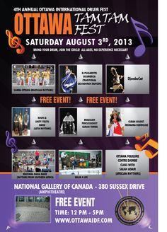 OTTAWA INTERNATIONAL DRUMMING FESTIVAL | OTTAWA INTERNATIONAL DRUMMING FESTIVAL | Events