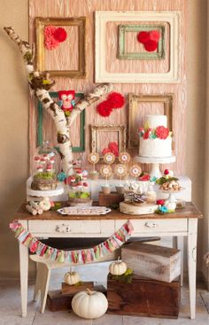 Woodland owl Themed Party