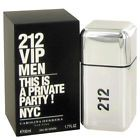 212 VIP MEN By Carolina Herrera 50ml EDT Eau De Toilette Perfume 100% AUTHENTIC