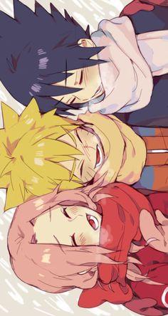 Naruto team 7 , naruto sasuke and sakura Anime Naruto, Otaku Anime, Naruto Fan Art, Manga Anime, Kakashi, Naruto Y Boruto, Naruto Sasuke Sakura, Naruto Team 7, Naruto Family