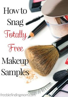How to Snag Totally Free Makeup Samples - Here are helpful tips on how to score some of the hottest beauty products for free!