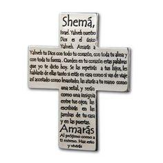 Cruz Recordatorio 'Shema'