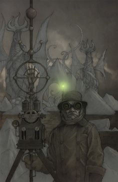 At The Mountains of Madness, HP Lovecraft