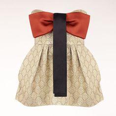 Adorables!!! and crazy expensive! - Stella McCartney - Gold Silk Lurex Penn Top  $2355