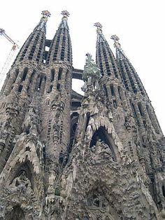 Gaudi's Magnificent La Sagrada Familia in Barcelona is a UNESCO Site