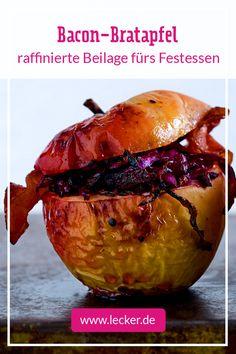 Bratapfel Baconschmaus - die perfekte #Beilage zum #Weihnachtsessen!