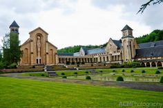 The beautiful Orval Abbey in Florenville, Belgium. One of the world's seven official Trappist breweries.