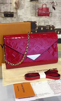In essence, the Louis Vuitton Monogram Vernis Mira is a versatile bag with extra-durable leather and well-decorated metal elements. Plenty of space, superb looks, and world-known LV logo are just some of the advantages you can get right now, with the Mira (wonderful) bag.  See more at http://www.luxtime.su/louis-vuitton-handbags