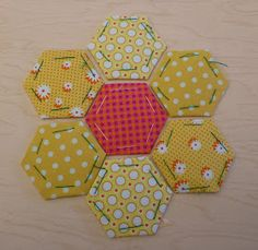Sewn: 32 - Hexagon Flower