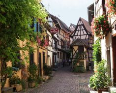 Alsace, France  ... my favorite place in France.