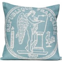 French Coin - Silverberry Pillow