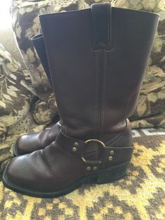 Boulet Ladies Western Boots Grizzly Mountain 6003 6 5 C | eBay