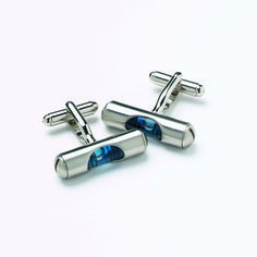 Blue Spirit Level Cufflinks Cufflinks, Spirit, Gifts, Ministry, Accessories, Gift Ideas, Gallery, Cuffs, Hobbies