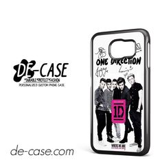 One Direction Book Autograph DEAL-8207 Samsung Phonecase Cover For Samsung Galaxy S6 / S6 Edge / S6 Edge Plus
