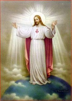 Sacred Heart of Jesus, bring the whole world closer to You!  Keep the entire world under Your rule and protect humanity through Your Most Sacred Heart!