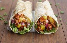 Koolhydraatarme wraps (tortilla's) maak je gewoon thuis!