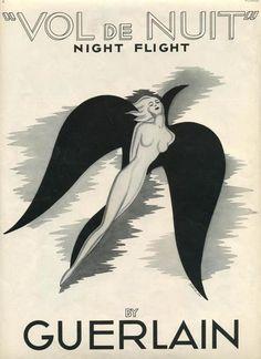 Guerlain. Vol de nuit