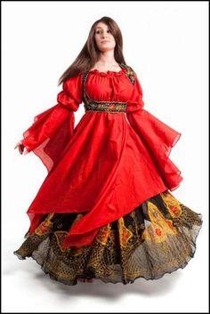 Medieval Irish Clothing Patterns   Costumes médiévaux, orientaux et tribal pour femme exclusivement ! (I'm in love.)