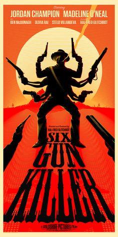 """Six Gun Killer"" by Bruce Yan - Hero Complex Gallery  - 1"
