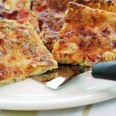 Pizzapannari tonnikalasta Ketogenic Recipes, Diet Recipes, Vegan Recipes, Baking Recipes, Dessert Recipes, Recipe For Mom, Fabulous Foods, I Foods, Easy Meals