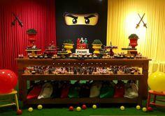 101 fiestas: fiesta temática Ninjago