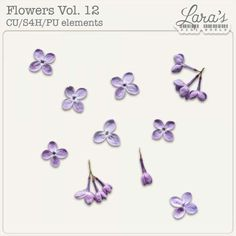 Flowers Vol. 12 by Lara's Digi World by Lara's Digi World Angel Trumpet, Spring Theme, Elements Of Art, Site Design, Digital Scrapbooking, Overlays, Digital Art, Artsy, Packing