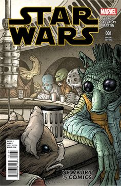 Star Wars - #1 Marvel - Newbury Comics Exclusive Cover Variant