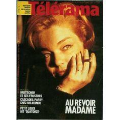 Télérama n°1865 du 09/10/1985 - Simone Signoret -... [magazine mis en vente par Presse-Mémoire]