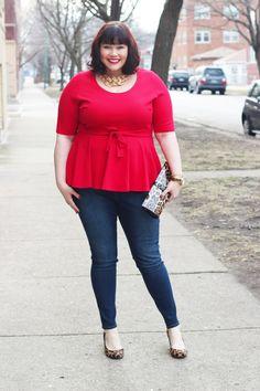 a2ffa7de42c5f Plus Size Fashion for Women - Plus Size Outfit Idea Plus Size Womens  Clothing