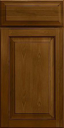 Merillat Masterpiece Cabinetry-Fairlane Square Hickory Rye With Onyx Glaze from waybuild