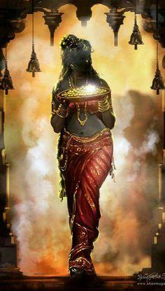 The extremely gorgeous Mahalakshmi