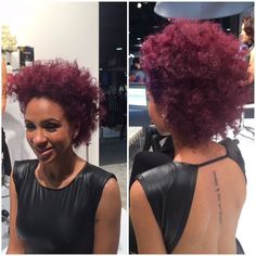 Natural hair can stand out with beautiful vibrant color  #hair #wigs #hairstyles #extensions #hairextensions #oc #ochair #hairstylist #ochairstylist #la #lahair #lahairstylist #socal #socalhair #curly #kinky #straight #bob #pixie by dfabuloushair